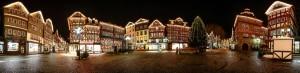 Giebelbeleuchtung MarktplatzHerborn Jürgen Brieger